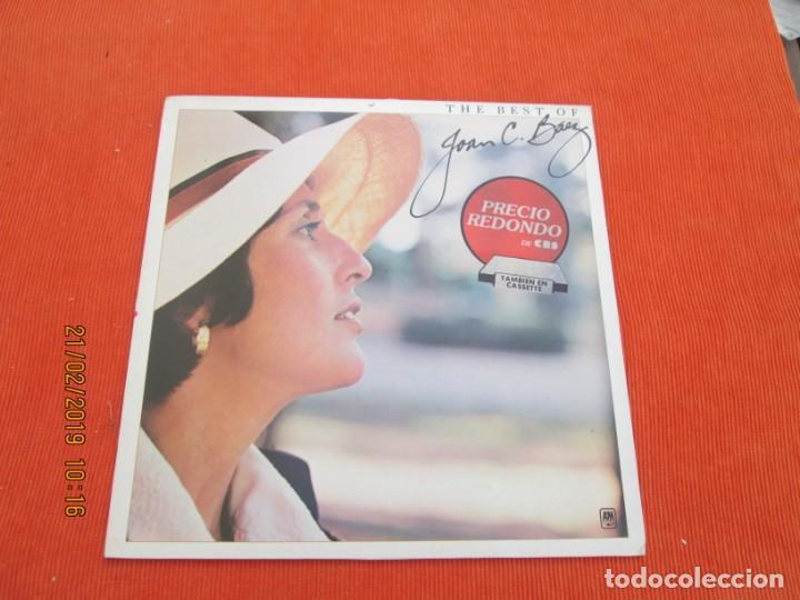 JOAN BAEZ ?– THE BEST OF JOAN C. BAEZ (Música - Discos - LP Vinilo - Cantautores Extranjeros)