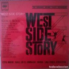 Discos de vinilo: LEONARD BERNSTEIN ?– WEST SIDE STORY - BSO - EP SPAIN 1962. Lote 152293762