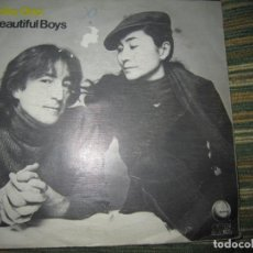 Discos de vinilo: JOHN LENNON - WOMAN / BEAUTIFUL BOYS SINGLE - ORIGINAL ESPAÑOL - GEFFEN RECORDS 1981 -. Lote 152295438
