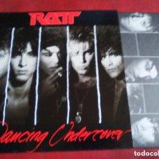 Discos de vinilo: RATT DANCING UNDERCOVER (MOTLEY CRUE.. Lote 152299362