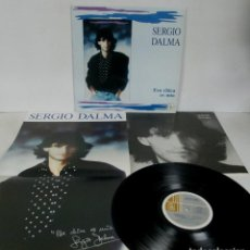 Discos de vinilo: SERGIO DALMA - ESA CHICA ES MIA - LP - HORUS 1989 SPAIN 42002 + LETRAS + POSTER GIGANTE EXCELENTE. Lote 152300666