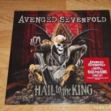 Discos de vinilo: AVENGED SEVENFOLD 2 LP HAIL TO THE KING * NUEVO Y PRECINTADO-OFERTA-MOTLEY CRUE-WASP-IRN MAIDEN. Lote 152306434