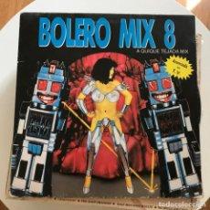 Discos de vinilo: VV.AA. - BOLERO MIX 8 - A QUIQUE TEJADA MIX - LP DOBLE BLANCO Y NEGRO 1991. Lote 152312498