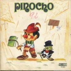 Discos de vinilo: PINOCHO (EP CON LIBRETO ORLADOR 1973). Lote 152313606