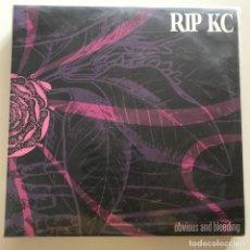 Discos de vinilo: RIP KC - OBVIOUS AND BLEEDING - LP DOBLE MUNSTER 2005. Lote 152314754