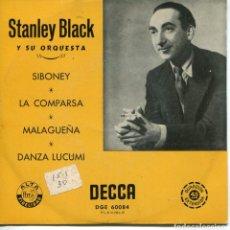 Discos de vinilo: STANLEY BLACK (MUSICA DE ERNESTO LECUONA) / DANZA LUCUMI + 3 (EP 1959). Lote 152315218