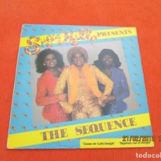 Discos de vinilo: THE SEQUENCE ?– SUGAR HILL PRESENTS THE SEQUENCE. Lote 152325186