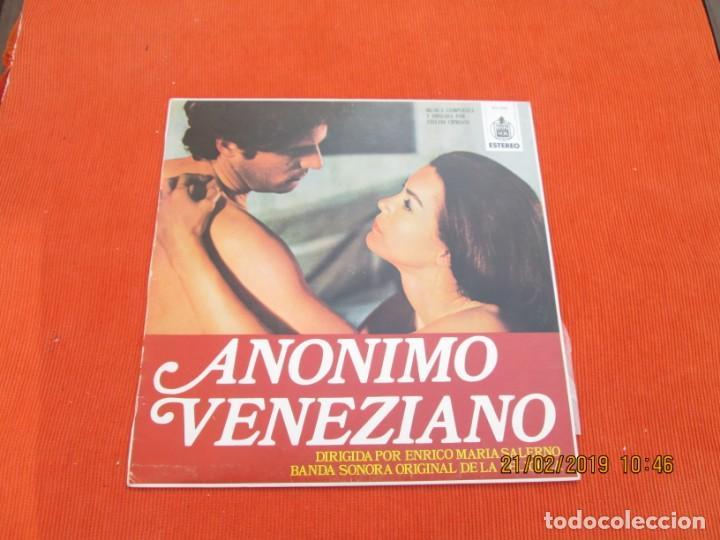 STELVIO CIPRIANI ?– ANONIMO VENEZIANO (Música - Discos - LP Vinilo - Bandas Sonoras y Música de Actores )