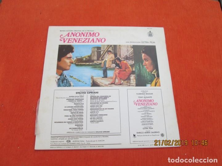 Discos de vinilo: Stelvio Cipriani ?– Anonimo Veneziano - Foto 2 - 152329162