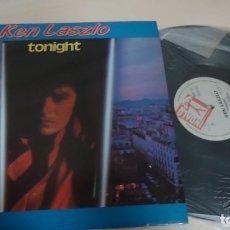 Discos de vinilo: ---TONIGHT- KEN LASZLO - BLANCO Y NEGRO -MUSIC- BCN- MADRID- 1986- . Lote 152330054