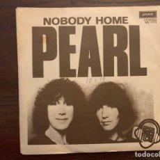 Discos de vinilo: PEARL ?– NOBODY HOME SELLO: LONDON RECORDS ?– MO 1773 FORMATO: VINYL, 7 , 45 RPM, PROMO PAÍS: SPAIN. Lote 152331422