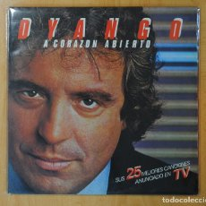 Discos de vinilo: DYANGO - A CORAZON ABIERTO - GATEFOLD - 2 LP. Lote 152335658