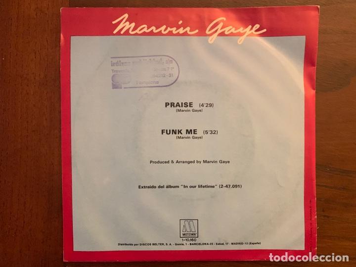 Discos de vinilo: Marvin Gaye ?– Praise Sello: Tamla Motown ?– 1-10.160 Formato: Vinyl, 7 , Single País: Spain - Foto 2 - 152336578