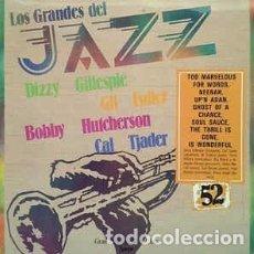 Discos de vinilo: LESTER YOUNG / DIZZY GILLESPIE / CAL TJADER - LOS GRANDES DEL JAZZ 52 (LP, COMP) LABEL:SARPE CAT#: . Lote 152337634