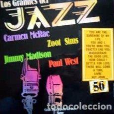 Discos de vinilo: CARMEN MCRAE, ZOOT SIMS, JIMMY MADISON, PAUL WEST - LOS GRANDES DEL JAZZ 56 (LP, ALBUM, RE) LABEL:S. Lote 152344118