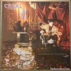 Discos de vinilo: TINO CASAL : LÁGRIMAS DE COCODRILO. LP. EMI-ODEON, 1987. Lote 152345546