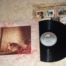 Discos de vinilo: ALBERT PLA. NO SÓLO DE RUMBA VIVE EL HOMBRE. LP BMG ARIOLA 1992-COMPLETO+REGALO LP HO SENTO MOLT. Lote 152350322