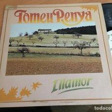 Discos de vinilo: TOMEU PENYA (ILLAMOR) LP ESPAÑA 1985 (VIN-G1). Lote 152354390
