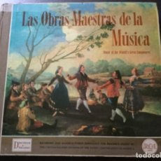 Discos de vinilo: LAS OBRAS MAESTRAS DE LA MÚSICA .12 LP . Lote 152361406
