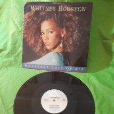 Discos de vinilo: WHITNEY HOUSTON GREATEST LOVE OF ALL ARIST 1985. Lote 152368117