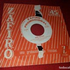 Discos de vinilo: PEPE BALDO LA LUNA Y EL TORO/AY NOVIA MIA/JUAN SALVADOR/EL CORDOBES 7'' EP 1964 ZAFIRO PROMO. Lote 152372458