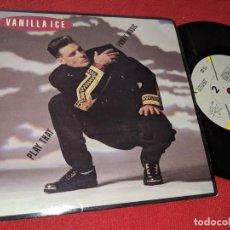 Dischi in vinile: VANILLA ICE PLAY THAT FUNKY MUSIC/GO ILL 7'' SINGLE 1990 SBK EU. Lote 152374102