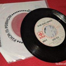 Discos de vinilo: LUCHA VILLA YA NOS VOLVIO A AMANECER/MARIA DE LAS GUARDIAS 7'' SINGLE 1975 MUSART PROMO MEXICO. Lote 152375270