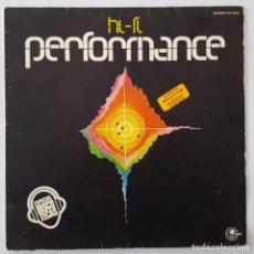 Discos de vinilo: LP / HI-FI / PERFORMANCE / CARNABY CPS 9518 / 1977 (OUZANA - J.P. FESTI) PROMO. Lote 152390482