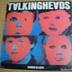 Discos de vinilo: LP TALKING HEAD REMAIN IN LIGHT. Lote 152391402