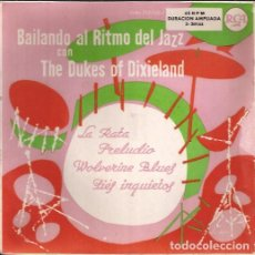 Discos de vinilo: EP BAILANDO AL RITMO DE JAZZ CON THE DUKES OF DIXIELAND RCA 3-20144 SPAIN. Lote 152394374