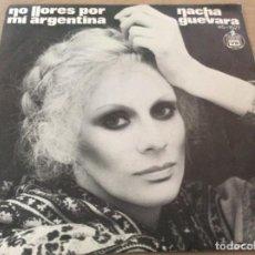 Discos de vinilo: NACHA GUEVARA. NO LLORES POR MI, ARGENTINA/NUNCA SABRAS LO QUE HARE POR TI. 1977 HISPAVOX. Lote 152406194