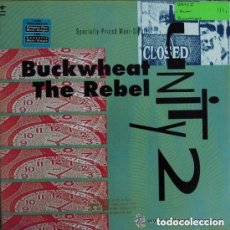 Discos de vinilo: UNITY 2 - BUCKWHEAT THE REBEL - MAXI-SINGLE US 1990 (HOUSE, HIP HOP, REGGAE). Lote 152411438