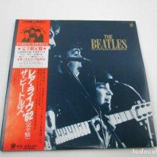 Discos de vinilo: VINILO EDICIÓN JAPONESA DEL DOBLE LP DE THE BEATLES LIVE STARCLUB HAMBURG GERMANY. Lote 152419134