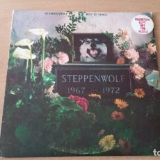 Discos de vinilo: LP STEPPENWOLF REST IN PEACE DUNHILL 1972 USA PROMO RARO. Lote 152422282