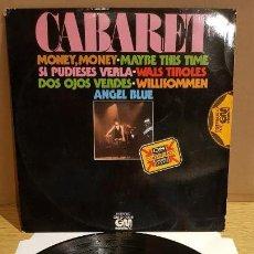 Discos de vinilo: CABARET / VARIOS ARTISTAS / SONIDO CUADRAFÓNICO / LP - GRAMUSIC - 1976 / MBC. ***/***. Lote 152423514