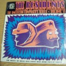 Discos de vinilo: LP THE RESIDENTES STARS HANK FOREVER THE AMERICAN COMPOSER´S SERIES VOLUME II. Lote 152426046