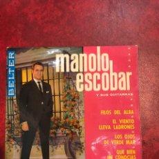 Discos de vinilo: MANOLO ESCOBAR EP DE 1964. Lote 152430536