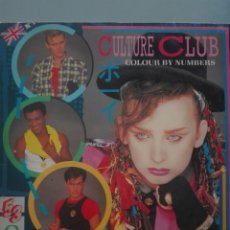 Discos de vinilo: CULTURE CLUB COLOUR BY NUMBERS 1983 VIRGIN #. Lote 152435338