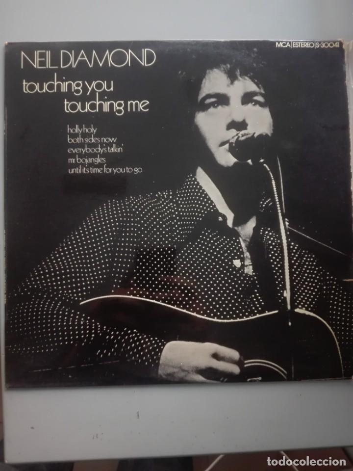 NEIL DIAMOND TOUCHING YOU -MCA 1973 # (Música - Discos de Vinilo - EPs - Pop - Rock Extranjero de los 70)