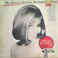Discos de vinilo: BARBARA STREISAND SECOND ALBUM LP EDIC ESPAÑA AÑOS 80 DISCO EXC. Lote 152435914