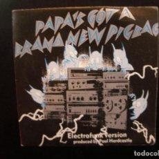 Discos de vinilo: THE SILENT UNDERDOG/ PIGBAG- PAPA´S GOT A BRAND NEW BAG. SINGLE. Lote 152439622