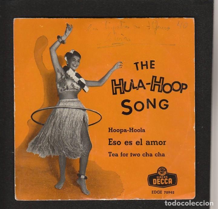 THE HULA HOOP SONG- ANTIGUO CON TRICENTRO-RAREZA DECCA- COLECCIONISTAS- BEATLES (Música - Discos de Vinilo - EPs - Pop - Rock Extranjero de los 50 y 60)