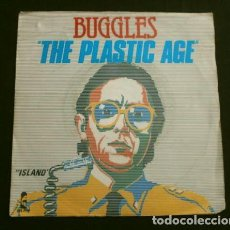 Discos de vinilo: BUGGLES (SINGLE ED. FRANCESA 1980) THE PLASTIC AGE - ISLAND. Lote 152442098