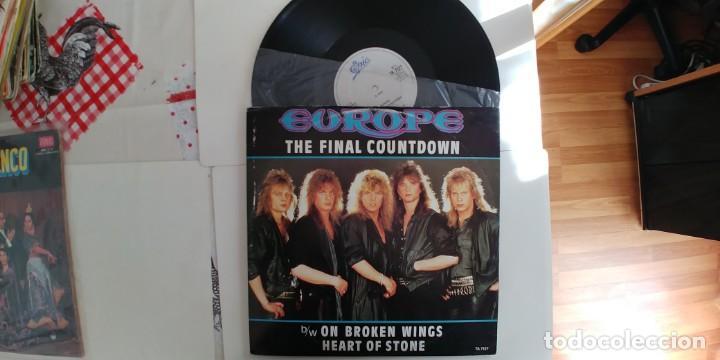 EUROPE-MAXI THE FINAL COUNTDOWN (Música - Discos de Vinilo - Maxi Singles - Heavy - Metal)