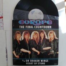 Discos de vinilo: EUROPE-MAXI THE FINAL COUNTDOWN. Lote 152444842