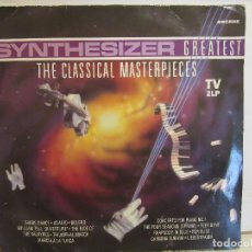 Discos de vinilo: ED STARINK - SYNTHESIZER GREATEST / THE CLASSICAL MASTERPIECES - 2 X LP - 1991 - VG/VG. Lote 152445354