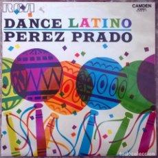 Discos de vinilo: PÉREZ PRADO. DANCE LATINO. RCA-CAMDEN, SPAIN 1972 LP. Lote 183375041