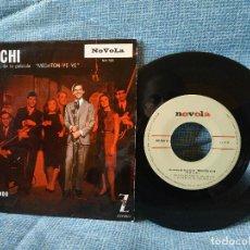Discos de vinilo: MOCHI (CANCIONES DE LA PELICULA MEGATON YE YE) IVONE + 3 (EP 1965). Lote 152455482