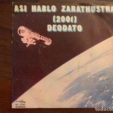 Discos de vinilo: EUMIR DEODATO ?– ASÍ HABLÓ ZARATHUSTRA (2001) SELLO: ACCIÓN ?– AC-10.045, CTI RECORDS ?– AC-10.045 F. Lote 152459898