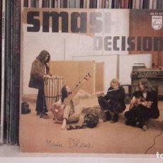 Discos de vinilo: SMASH - DECISION. Lote 191736136